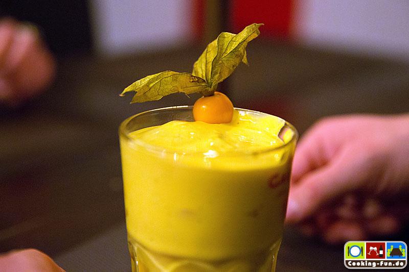 Aromatisiertes Joghurt mit Früchten