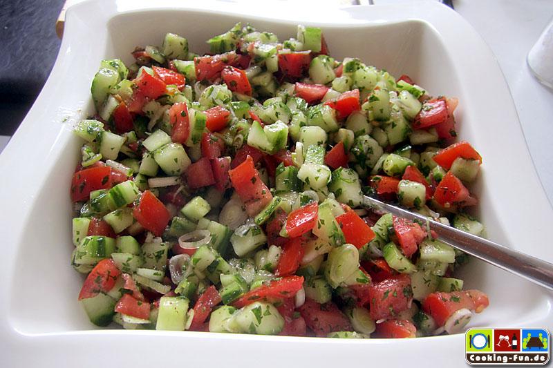 Tomaten-Gurke-Salat