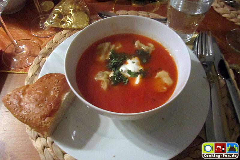 Ravioli-Suppe nach südtürkischer Art