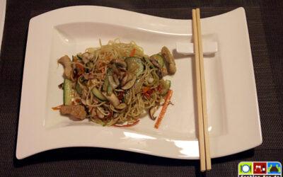 Gebratene Nudeln Asia Style