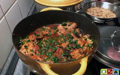 Pollo con le olive