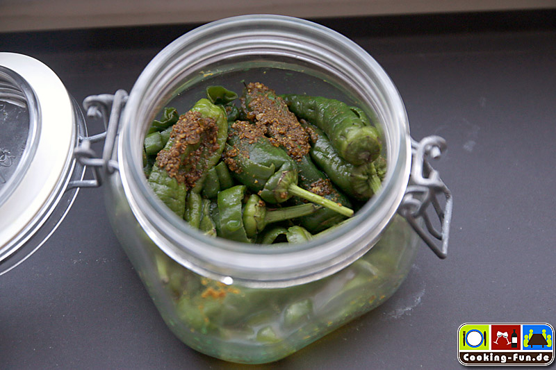 Green Chili Pickles