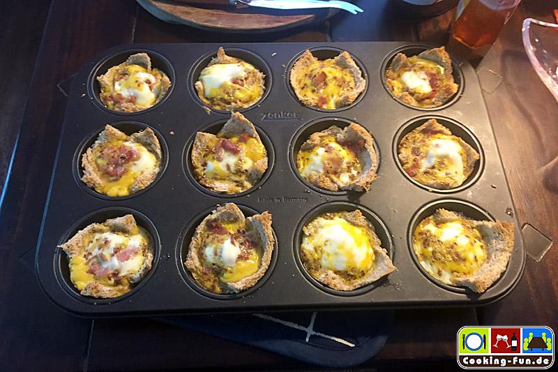 """Ei-""""Muffins"""" zum Frühstück"""