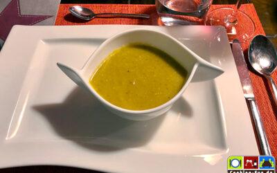 Topinambur-Kürbis-Suppe (vegan)